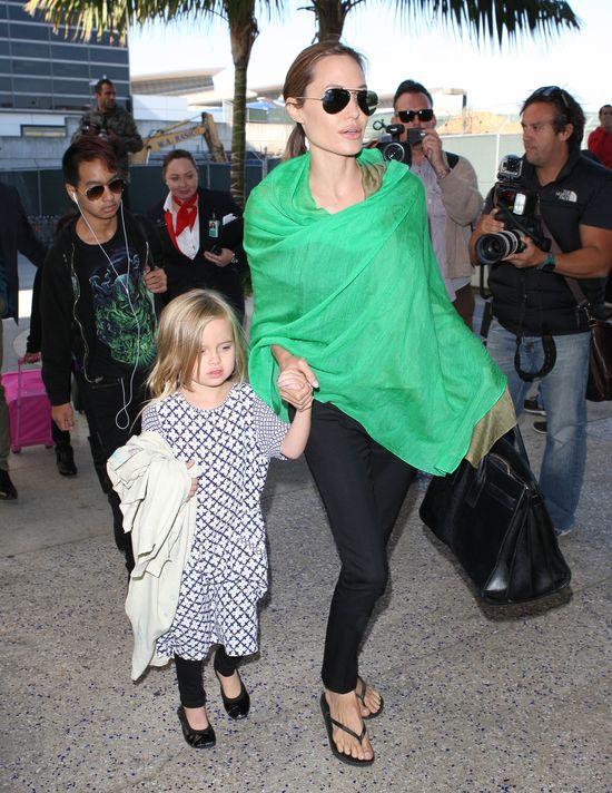 Angelina Jolie je ziarna dla ptaków!