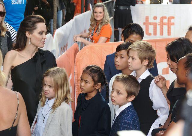 Ochroniarz dzieci Angeliny Jolie usłyszał od nich coś bardzo dziwnego