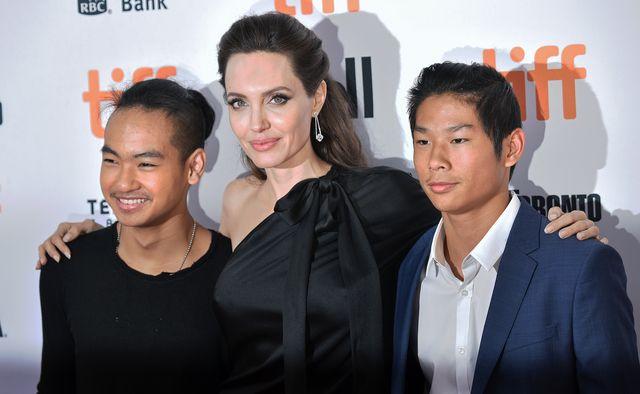 Maddox chciał iść na randkę. Do akcji wkroczyła Angelina Jolie