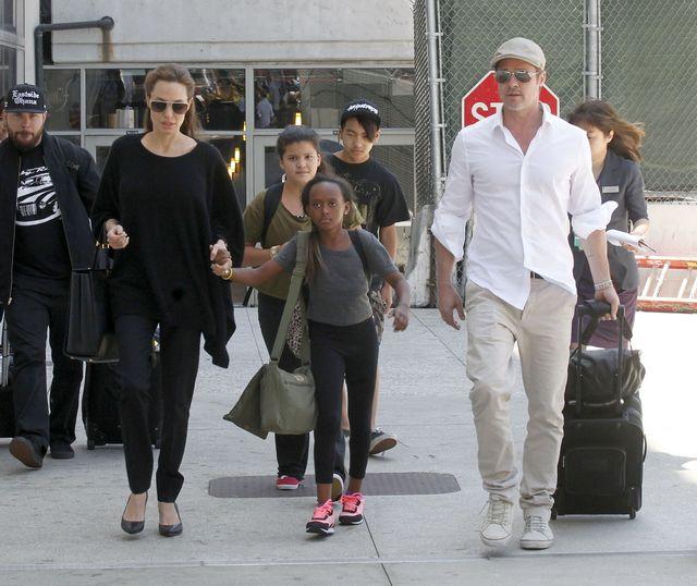 Angelina Jolie i Brad Pitt kłócą się o...