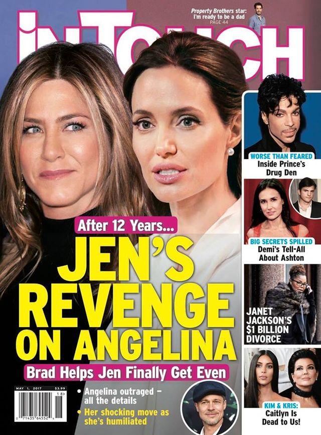 Aniston dokona ZEMSTY na Angelinie! Ta informacja zbije Was z tropu