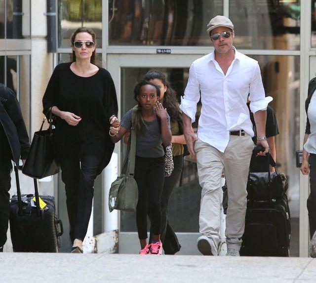 Nie zgadniecie, gdzie Angelina i Brad zabrali dzieci (VIDEO)