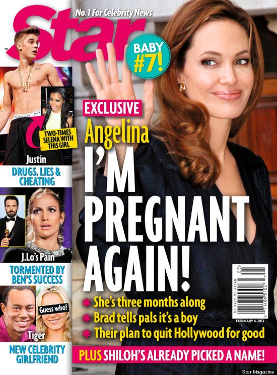 Angelina Jolie i Brad Pitt będą mieli 7 dziecko!