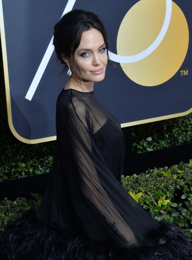 Angelina Jolie nie mogła oderwać wzroku od mężczyzny siedzącego tuż obok niej