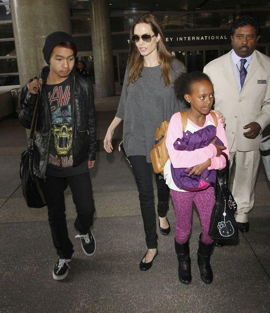 Angelina Jolie i Brad Pitt b�d� jara� jointy z dzie�mi!