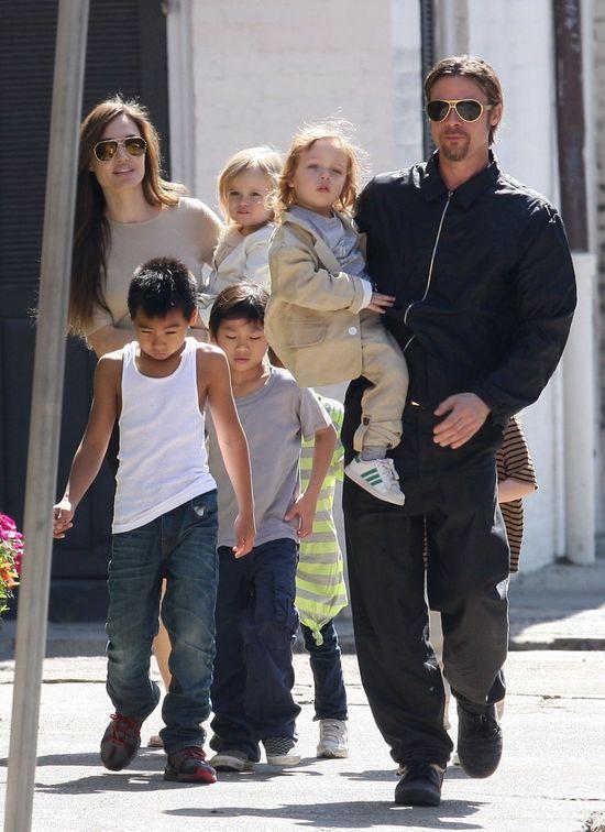 Brad Pitt też ma coś do powiedzenia o Angelinie Jolie