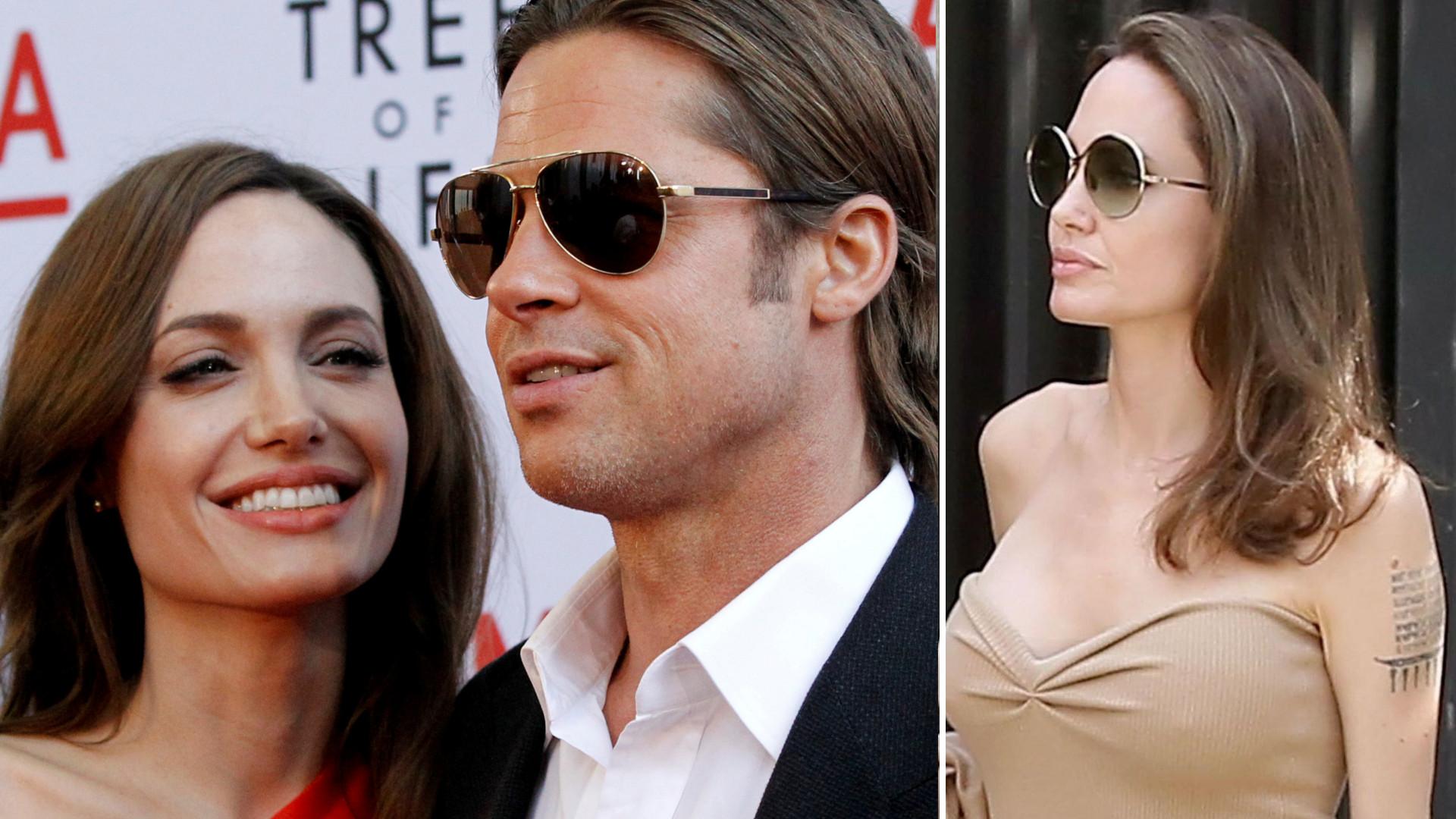 """Będzie jeszcze jedno wspólne """"dziecko"""" Jolie i Pitta"""