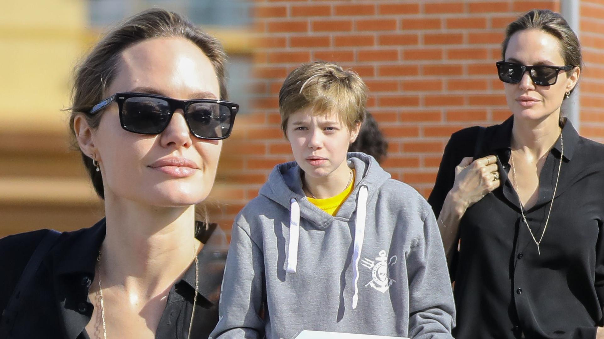 Jolie kupiła 12-letniej Shiloh nietypowy prezent (ZDJĘCIA)
