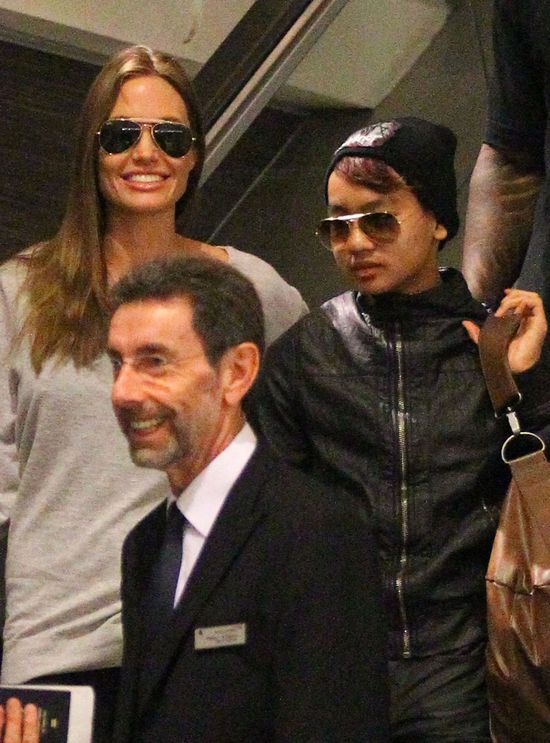 Syn Angeliny Jolie bardziej stylowy od niej? (FOTO)