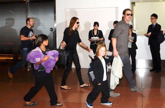 Szczęśliwa Angelina Jolie w Japonii (FOTO)
