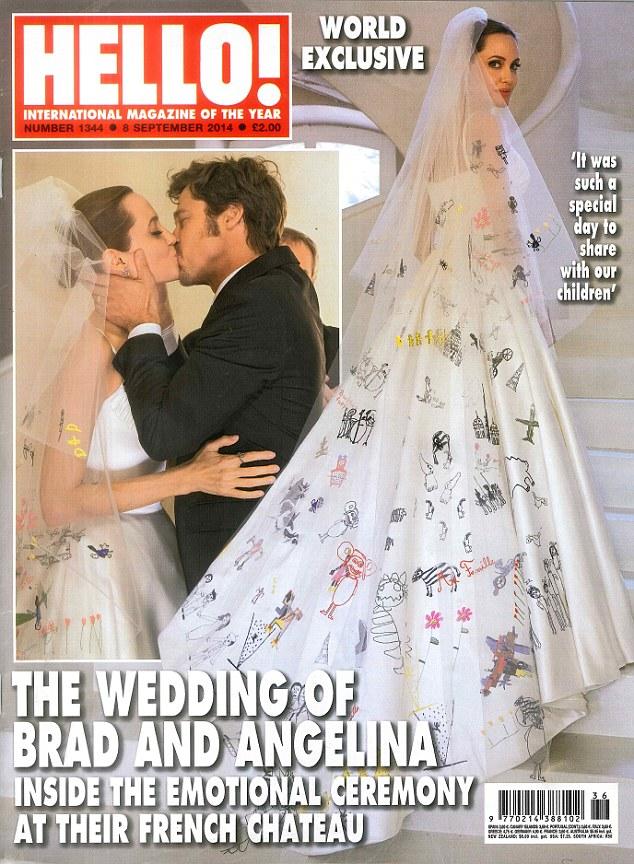 Ile Jolie i Pitt zarobili na zdjęciach ślubnych? (FOTO)