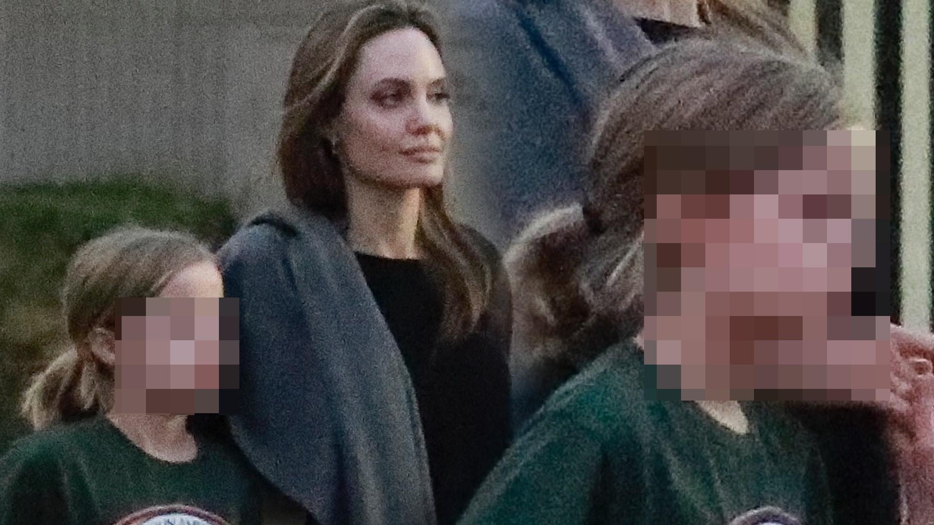 Córka Angeliny Jolie, 10-letnia Vivienne, coraz bardziej przypomina mamę (FOTO)