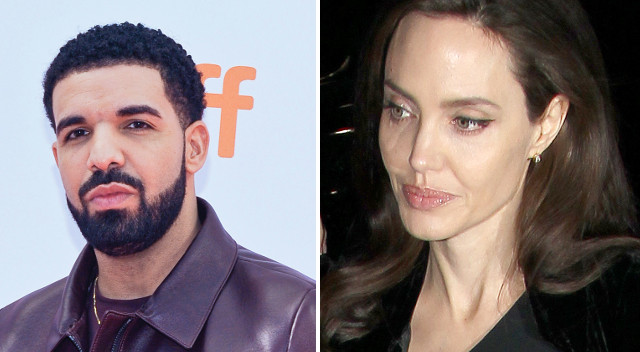 Angelina Jolie na randce z Drake'iem?