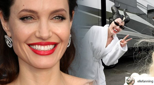 Angelina Jolie na planie Maleficent 2. Mamy pierwsze FOTKI!