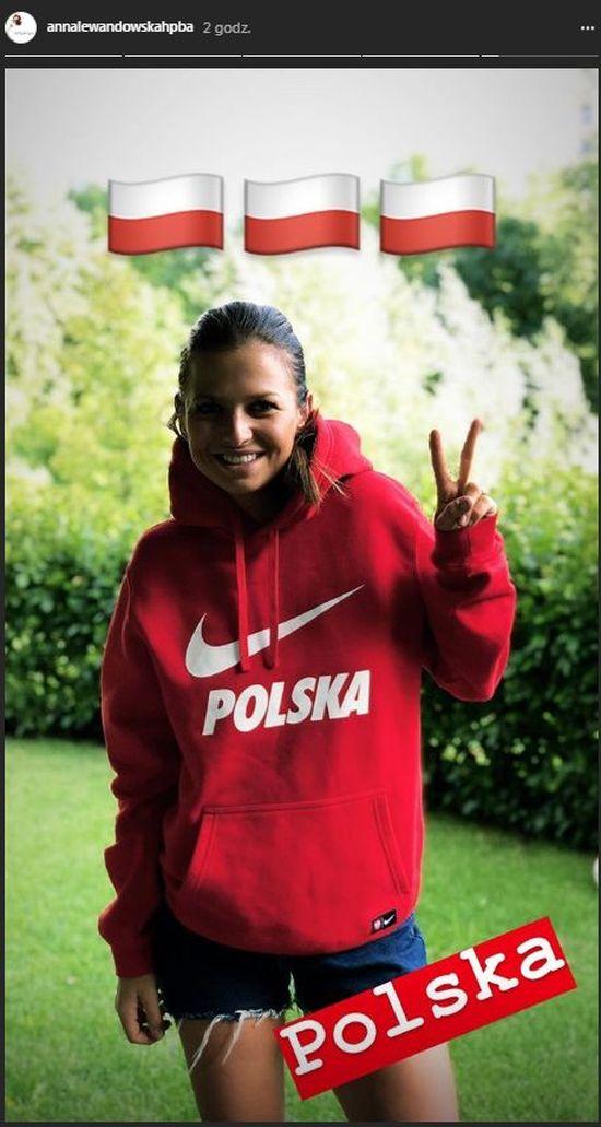 Anna Lewandowska nie poleciała do kazania kibicować polskiej drużynie
