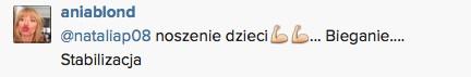 Anna Przybylska chwali się bicepsem (FOTO)