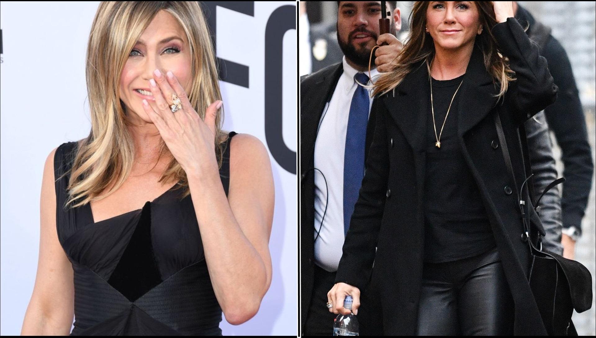 Samolot z Jennifer Aniston miał AWARYJNE lądowanie (ZDJĘCIA)
