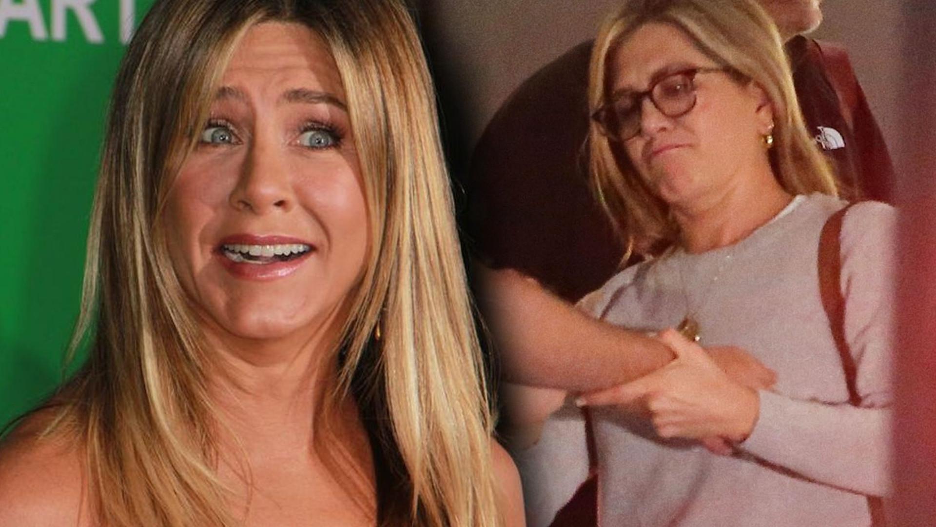 Co się dzieje z Jennifer Aniston?! Przytyła przez stres?