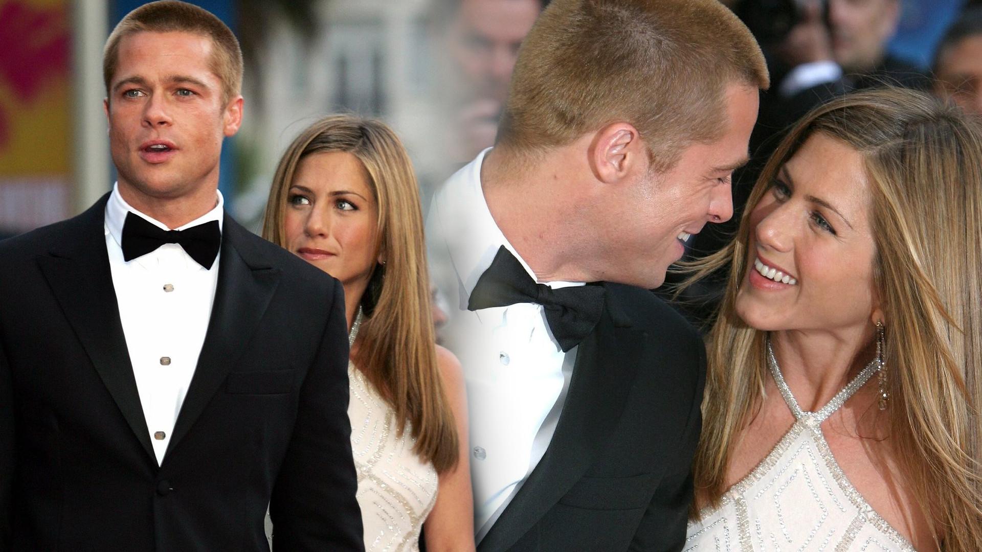 Jennifer Aniston i Brad Pitt CZULE się przytulają! Zostali przyłapani