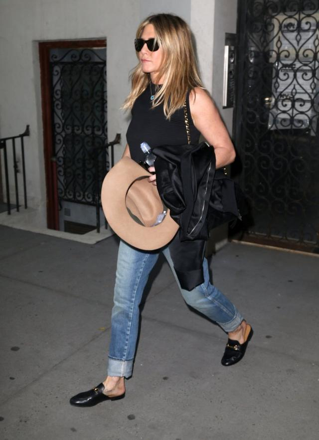 Czy z twarzy Jennifer Aniston można cokolwiek wyczytać? (FOTO)