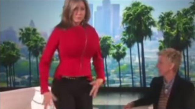 Jennifer Aniston mocno zakpiła z Kim Kardashian (VIDEO)