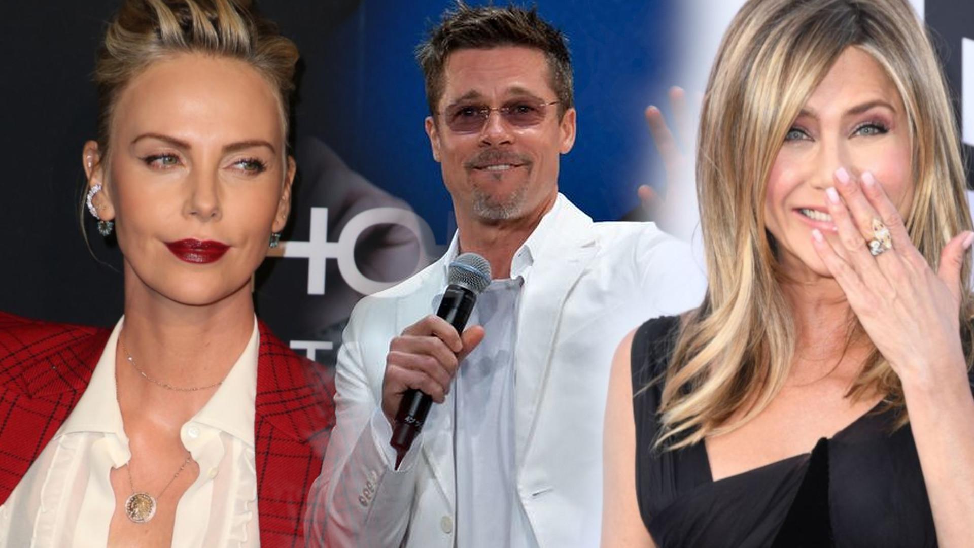 Oto, co Jennifer Aniston myśli o związku Brada Pitta z Charlize Theron