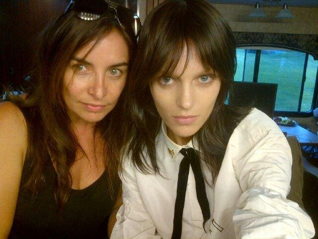 Anja Rubik została brunetką? (FOTO)
