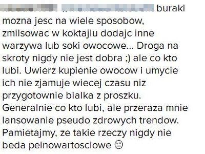 U Lewandowskiej kłótnia o... BURAKA (Instagram)