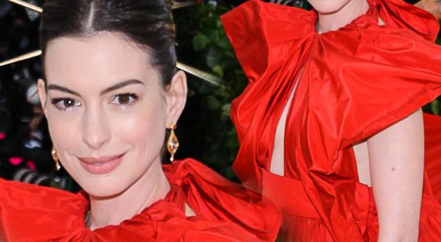 Anne Hathaway w NAJGORSZEJ stylizacji na Met Gali 2018!