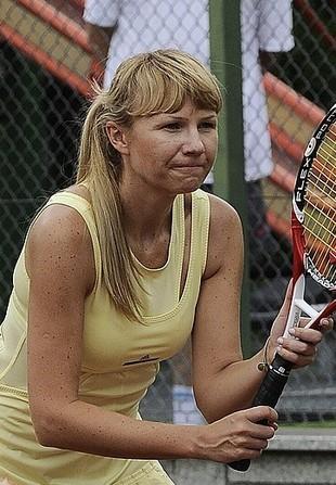 Anna Guzik jako tenisistka pokazała więcej niż chciała(FOTO)