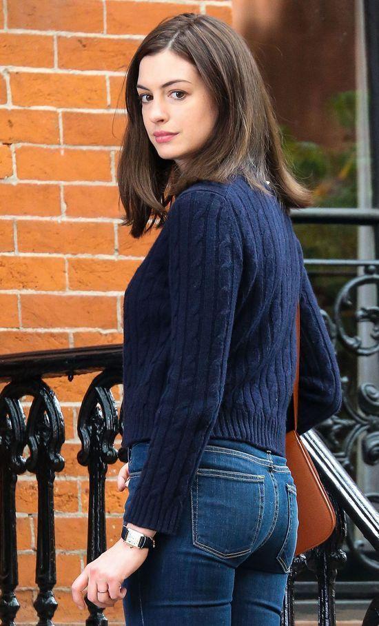 Anne Hathawy tylko przez chwilę wyglądała pięknie (FOTO)