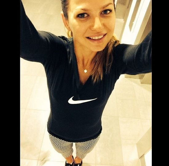 Anna Lewandowska jest BLONDYNK�! (FOTO)