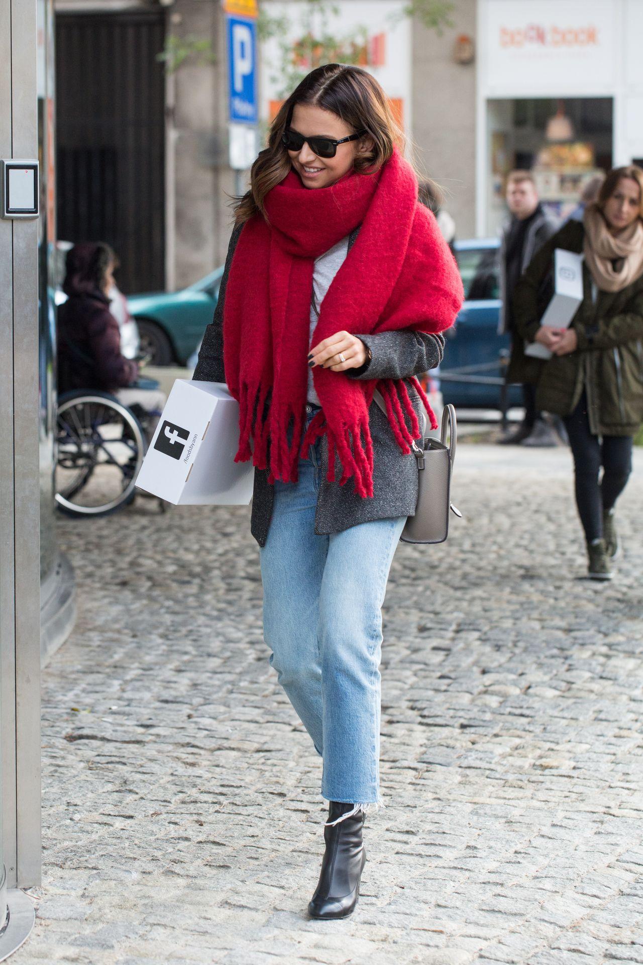 Anna Lewandowska w genialnej stylizacji - nie wydała na nią milionów monet