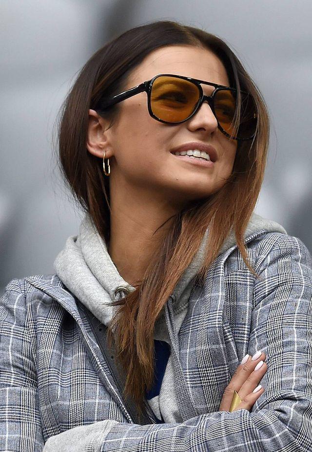 Anna Lewandowska na meczu Roberta (ZDJĘCIA)