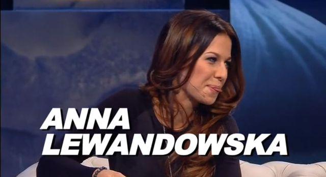 Anna Lewandowska odsłoniła nogi u Kuby Wojewódzkiego (FOTO)