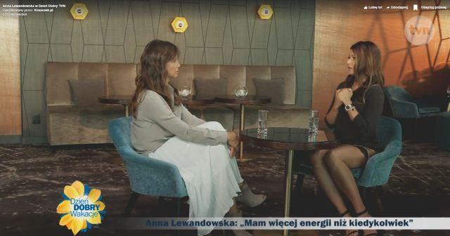 Anna Lewandowska o DRUGIM DZIECKU w rozmowie z Kingą Rusin w Dzień dobry TVN