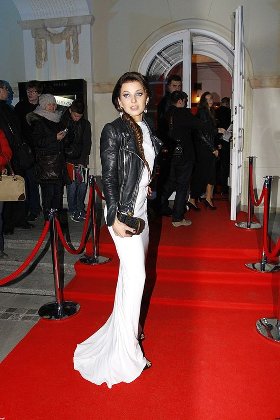 Anna Lewandowska zachwyca na czerwonym dywanie (FOTO)