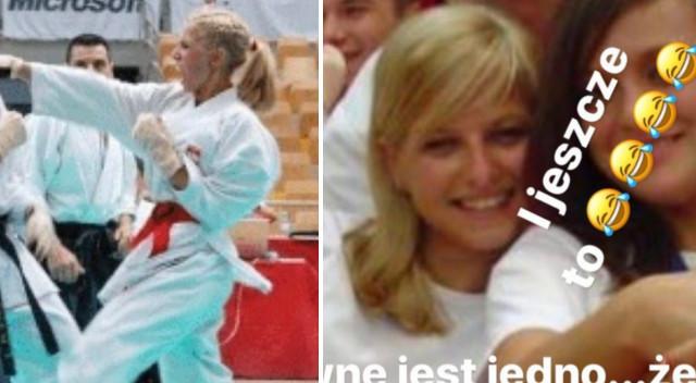 Anna Lewandowska w platynowym blondzie zastanawia się, czy się przefarbować