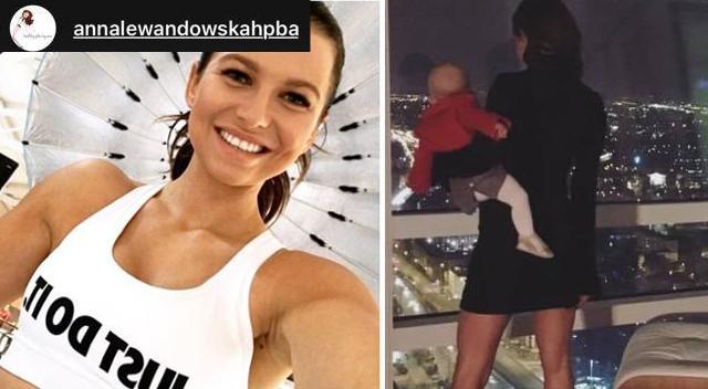 Anna Lewandowska z Klarą w nowym apartamencie kupionym przez Roberta (Instagram)