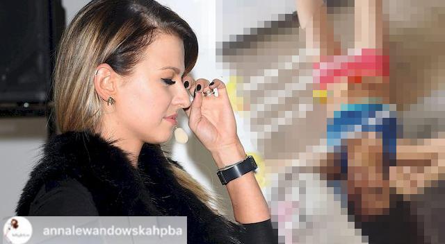 Anna Lewandowska musiała PRZERWAĆ treningi przez… Klarę!