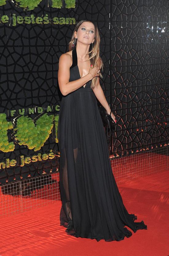 WOW! Anna Lewandowska ma świetne nogi i piękny dekolt! (Instagram)