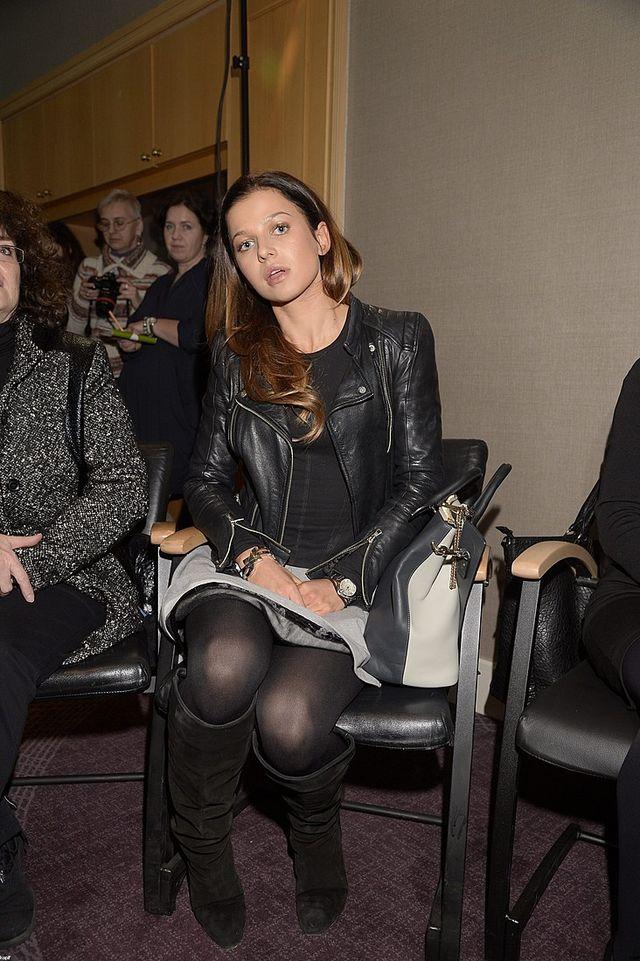 Anna Lewandowska z m�em na oficjalnym spotkaniu (FOTO)