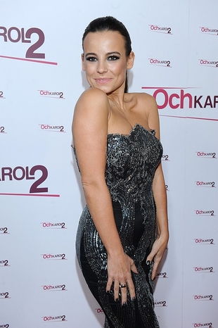 Anna Mucha wystawiła na aukcję swoja sukienkę z premiery