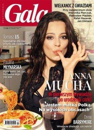 Anna Mucha szkoli się w nowym fachu
