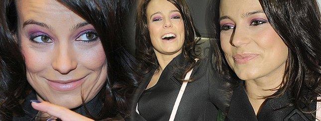 Anna Mucha już lata po imprezach (FOTO)