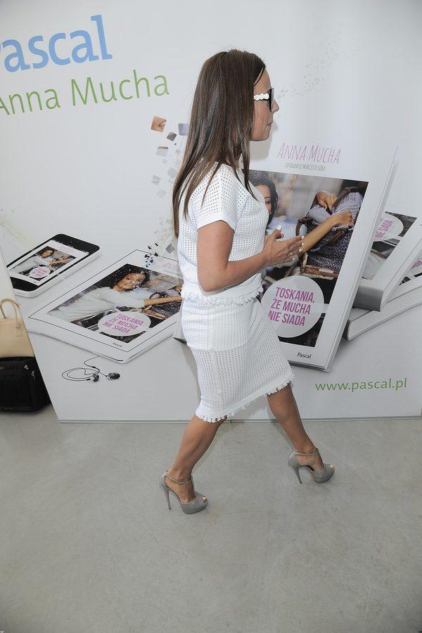 Anna Mucha promuje swoją książkę (FOTO)