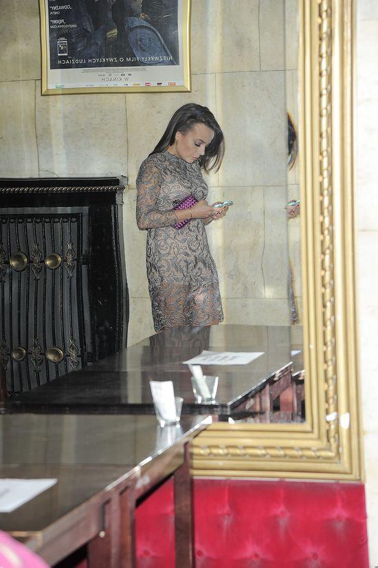 Anna Mucha znowu w koronkach (FOTO)