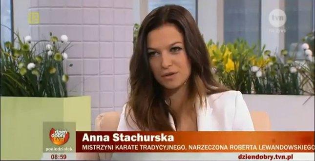 Dziewczyna Lewandowskiego, Anna Stachurska: planujemy ślub