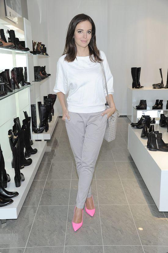 Kogo Maja Sablewska zaprosiła na prezentację butów? (FOTO)