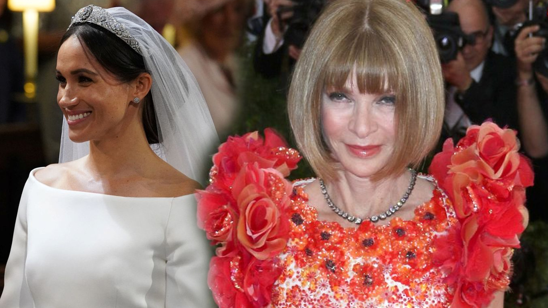 Anna Wintour mówi, co naprawdę sądzi o sukni ślubnej księżnej Meghan
